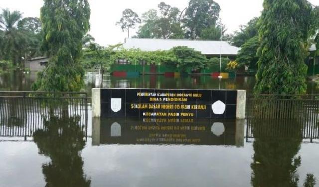 4.384 Rumah Warga di Indragiri Hulu Terendam Banjir