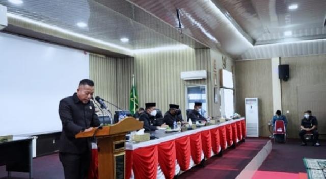 DPRD Sahkan Perda RPJMD Kepulauan Meranti Tahun 2021-2026