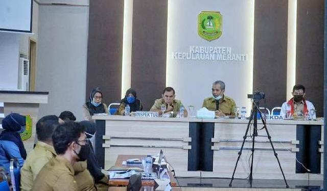 Mulai Berdinas Sekda Kamsol Pimpin Kegiatan PMPRB Kepulauan Meranti 2020