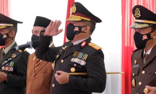 Presiden Jokowi Puji Kinerja Kapolda Riau Irjen Pol Agung Setya Imam Effendi