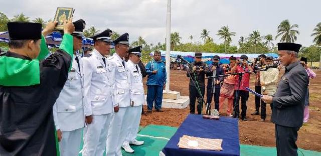 Wabup Said Hasyim Minta Kades Kembangkan Potensi Desa