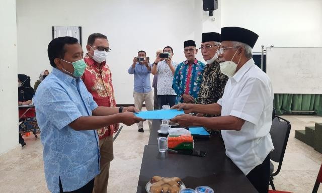 Nazaruddin Pimpin PerMasKab Kepulauan Meranti di Pekanbaru
