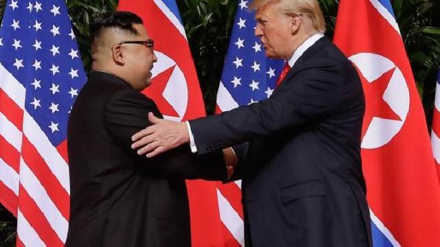 Ini Isi Perjanjian yang Ditandatangani Trump dan Kim Jong-un