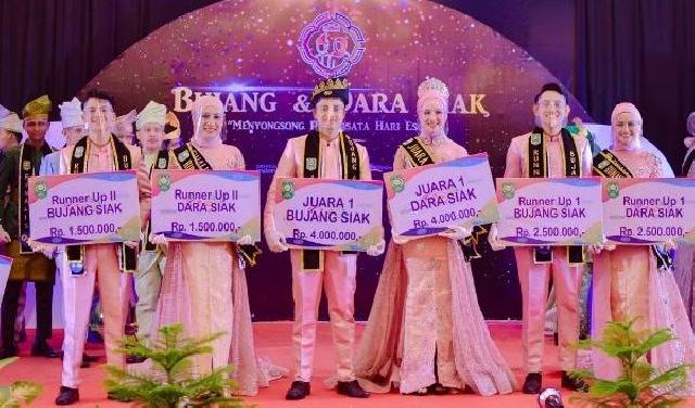 Unilak Bangga, Ongli Sangara Terpilih Jadi Duta Pariwisata Siak 2021