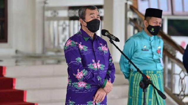Gubernur Syamsuar Harap Calon Praja IPDN Angkatan 32 Riau Belajar Dengan Baik