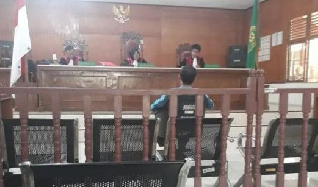 Ikut Kampanye Caleg, Kades di Inhil Divonis 8 Bulan Penjara