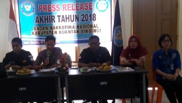 BNNK Kuansing Sampaikan Capaian Kinerja Selama 2018