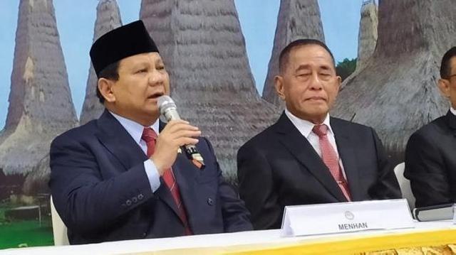 Prabowo Subianto Jadi Menhan, BEM UI: Cebong dan Kampret Ditipu