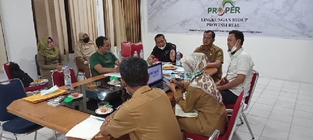 Indikasi Pencemaran Sungai Reteh, PMRB Audiensi Dengan DLHK Riau