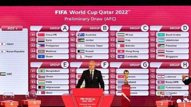 Jadwal Lengkap Timnas Indonesia di Kualifikasi Piala Dunia 2022 Zona Asia