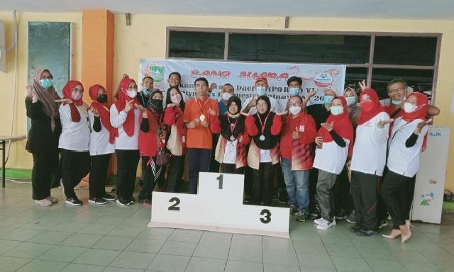 Tanpa Dana Pemko, Kontingen SOIna Pekanbaru Pertahankan Gelar Juara Umum Porda VI Riau