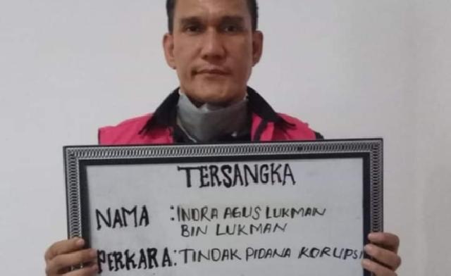 Korupsi Dana Bimtek, Kejari Kuansing Tahan Kepala Dinas ESDM Provinsi Riau