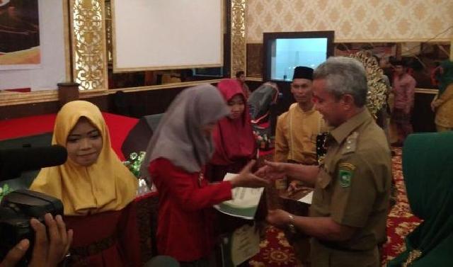 Wabup Said Hasyim Puji Kualitas SMP Negeri 2 Tebing Tinggi
