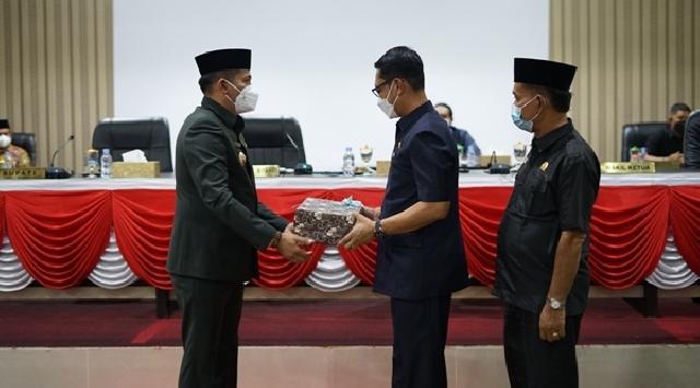 DPRD Gelar Paripurna Penyampaian Ranperda RPJMD Kepulauan Meranti 2021-2026