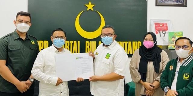 DPP PBB Resmi Lantik Pengurus PP Pemuda Bulan Bintang 2019-2024