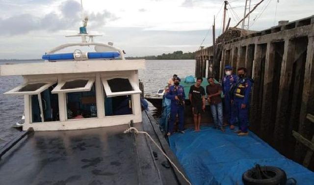 Direktorat Polairud Polda Riau Gagalkan Penjualan Tujuh Kubik Kayu Ilegal Asal Kepulauan Meranti