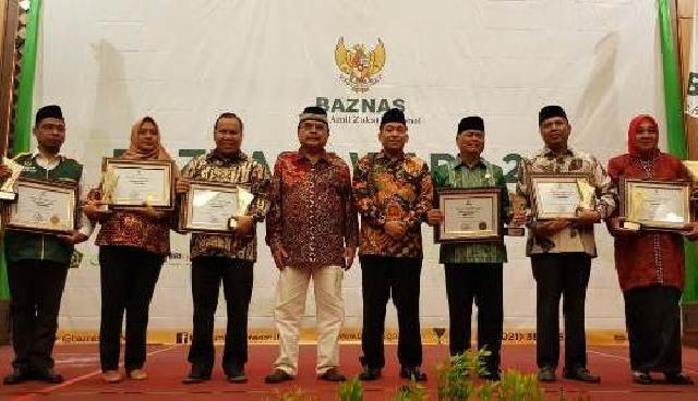 Bupati Kepulauan Meranti Sudah Terima Baznas Award 2018
