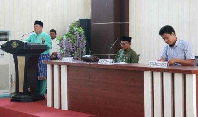 Pemkab Meranti dan FITRA Riau Rapat Finalisasi Daftar Informasi Publik