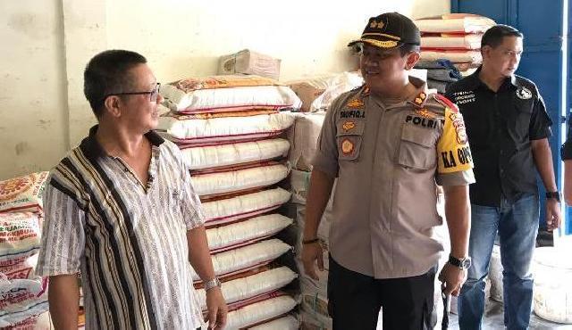 Kapolres Kepulauan Meranti Cek Stok BBM dan Sembako